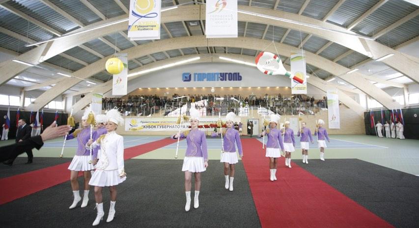 Первый турнир в стенах Городского Теннисного центра